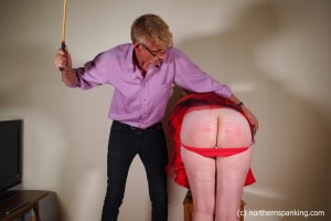 Me getting caned